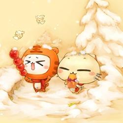 可爱动漫卡通猫咪图片