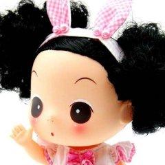 俏皮可爱的迷糊娃娃玩具
