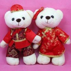 小白熊情侣新年装