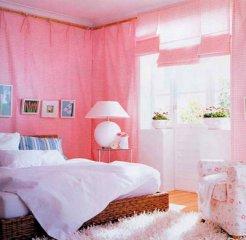 可爱的房间打扮粉嫩梦幻屋