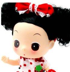 超漂亮可爱的迷糊娃娃