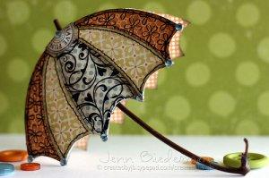 诗意般的小雨伞