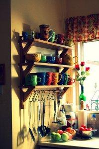 厨房里可爱的一角