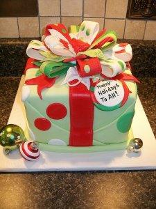 新年美味可口的甜点蛋糕饼干四