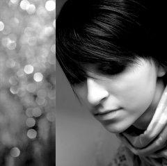 美女黑白唯美图片