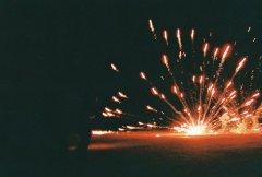 新年唯美的烟花礼炮图片