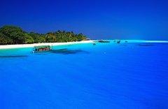 优美的大海沙滩风景