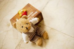 可爱的小熊玩具图片
