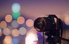 迷人的夜晚灯光唯美图片