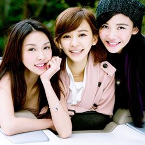 闺蜜好友三人行女生图片