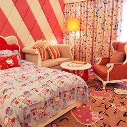 可爱女生房间图片