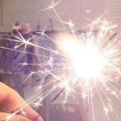 新年年夜唯美烟花祝福图片