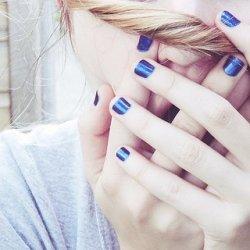 好看的指甲美甲可爱图片