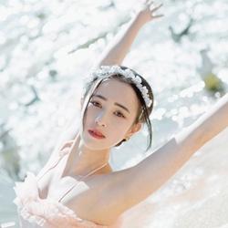 小清新可爱美女唯美芭蕾照片