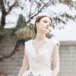 欧美甜美婚纱礼服唯美图片