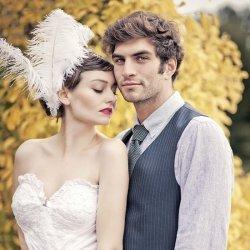 新娘新郎唯美幸福婚纱照
