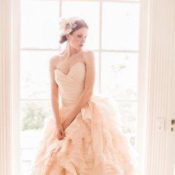 新娘子的唯美婚纱礼服设计
