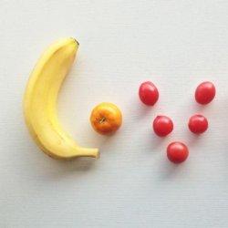 爱心LOVE水果早餐创意设计造型