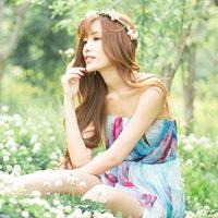小清新花仙子可爱美女图片