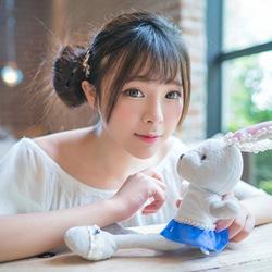 可爱小兔子少女萌萌哒图片