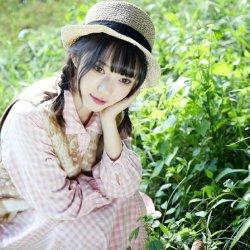 可爱小清新森系女生图片