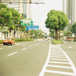 唯美小清新街道风景图片