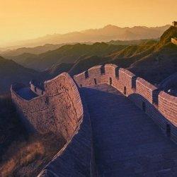 北京八达岭长城优美风景图片