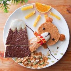 宝宝爱吃的可爱美食图片