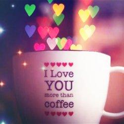 带字的爱情可爱杯子图片