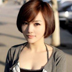 短发唯美可爱女生图片