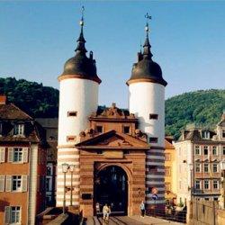 欧美古镇城堡优美风景图片
