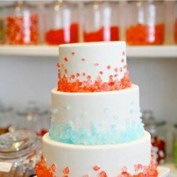浪漫的婚礼蛋糕图片大全