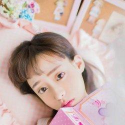 粉嫩可爱早安少女图片