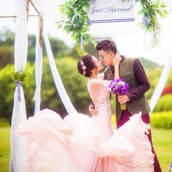 浪漫唯美结婚婚纱摄影照片