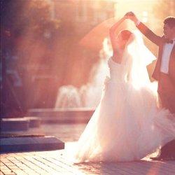 幸福浪漫唯美婚纱照图片