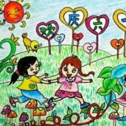 六一儿童节主题画大全精选