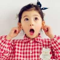 五岁Ellie韩美混血小萝莉头像
