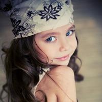 可爱外国小女生QQ头像