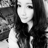 黑白可爱女生QQ头像