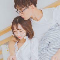 小清新唯美情侣QQ头像