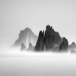 黑白摄影唯美意境风景图片