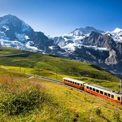 欧洲少女峰最高的火车站