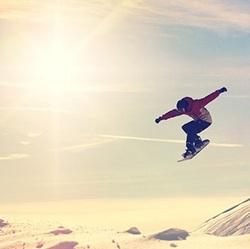 白雪皑皑的瑞士风光风景