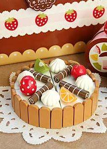 可爱的奶油蛋糕玩具图片