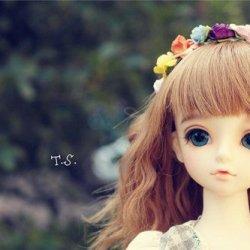 可爱的瓷骨美少女图片