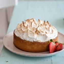 意大利草莓熏草豆糖霜蛋糕教程