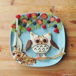 卡哇伊可爱儿童美食套餐