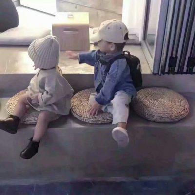 情侣头像不要陪一个男孩儿长大