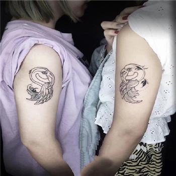 姐妹纹身头像 做一辈子的最亲的好闺蜜好姐妹了