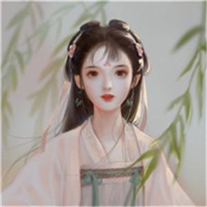 离别相思远缘分已尽 手绘唯美古风美女头像